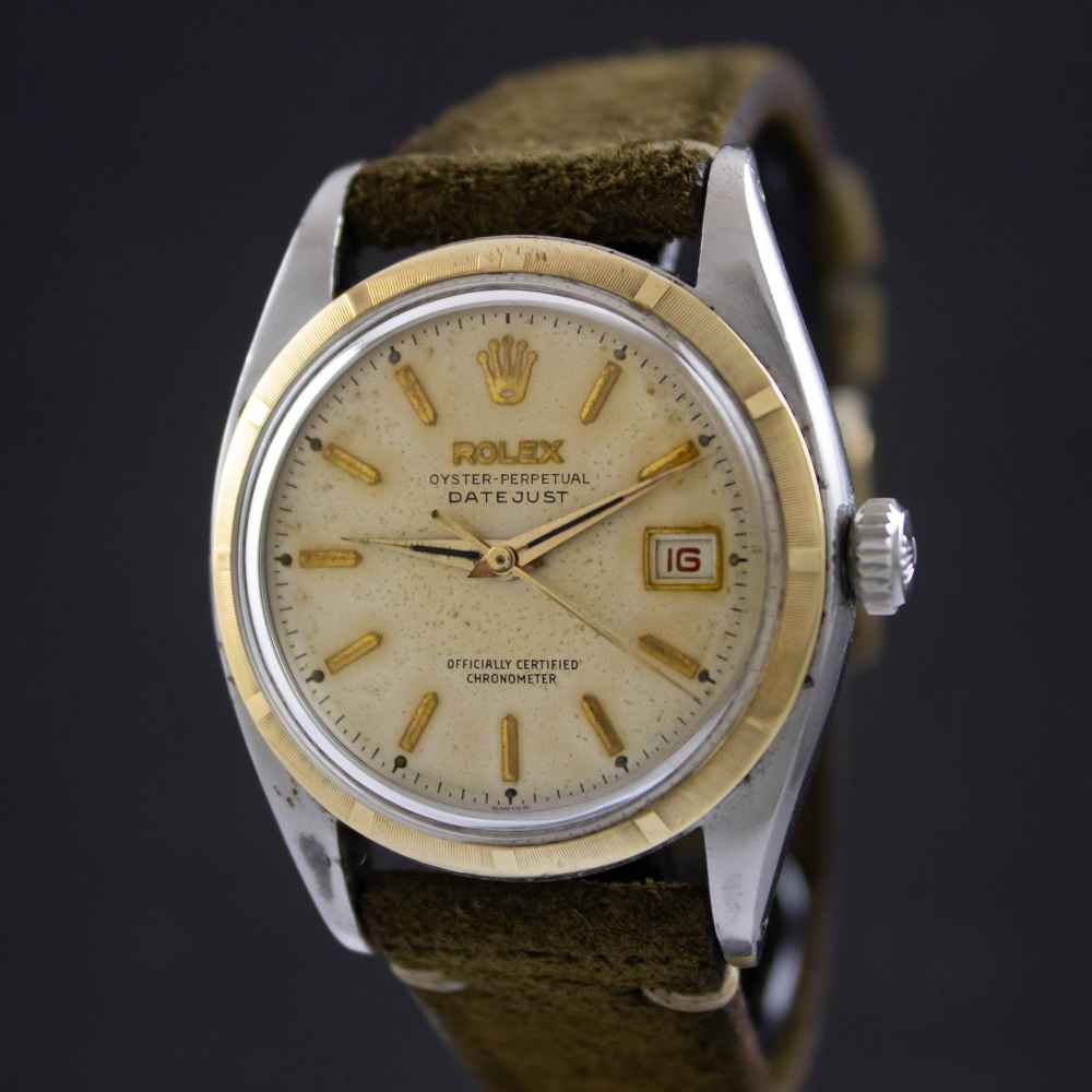 Rolex Datejust Ovettone Bubble Back